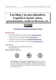 Los blog y su uso educativo. - UAEH
