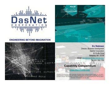 Capability Compendium - DasNet Corporation