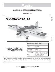 Download Anleitung DE/FR (PDF) - Hobbico