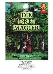 Die Drei Magier Noris, 1985 RÜTTINGER Johann 3 ... - Forum Mortsel