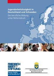 Jugendarbeitslosigkeit in Deutschland und Schweden - Die ...