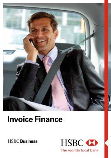 Invoice Finance Brochure (PDF) - Business banking - HSBC