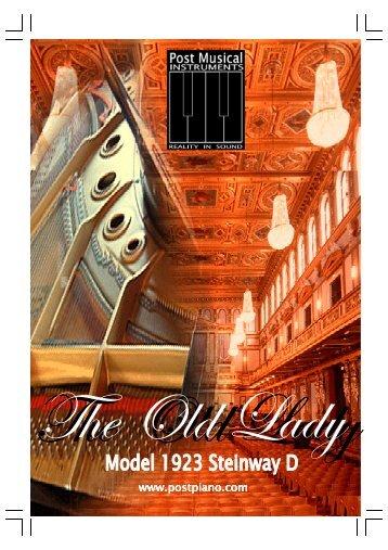 OLD LADY Giga 2 en 3 - Post Musical Instruments