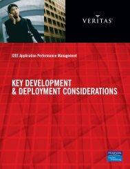 key development & deployment considerations - Eval.veritas.com