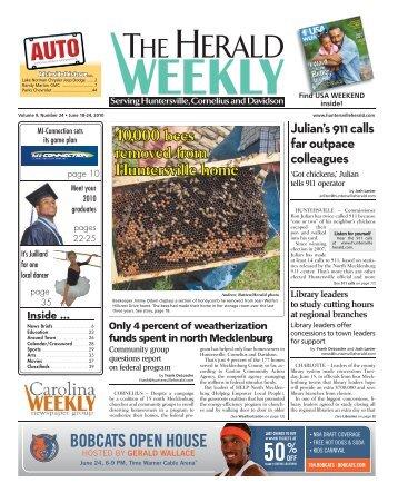 BOBCATS OPEN HOUSE - Carolina Weekly Newspapers