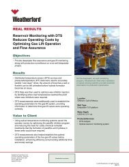 Reservoir Monitoring with DTS Reduces Operating Costs...