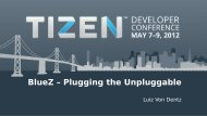 BlueZ – Plugging the Unpluggable