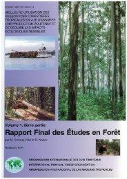 Rapport Final des Etudes en Foret - ITTO