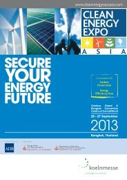 Event brochure - Clean Energy Expo