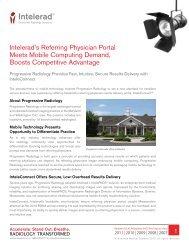 Progressive Radiology - Case Study - Intelerad