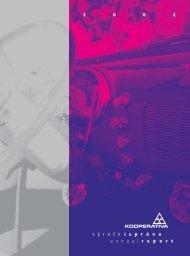 Výročná správa 2002 - Kooperativa