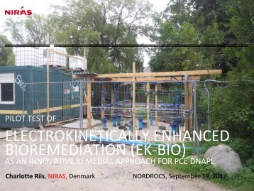 Pilot Test of Electrokinetically Enhanced Bioremediation (EK-BIO) as ...