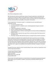 Department of Defense PCRP Consumer Reviewer Recruitment ...