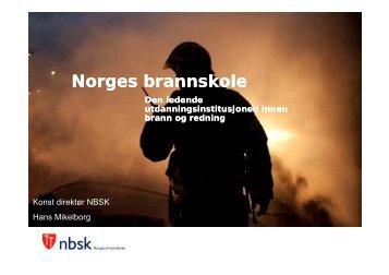 Utdanning for skadestedsledere i brannvesenet - nakos
