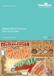 Digital literacy across the curriculum - Futurelab