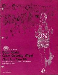 1977 State Meet Program - Mahomet-Seymour CUSD #3