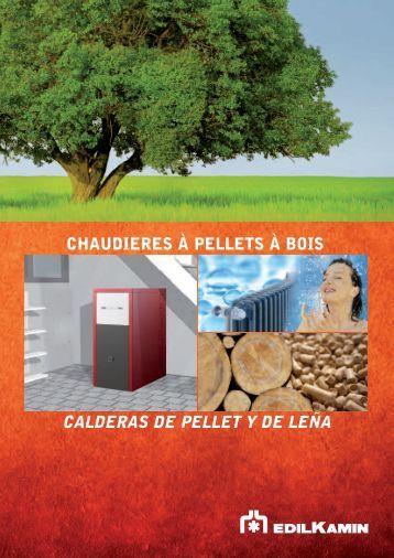 CALDERAS DE PELLET Y DE LEÑA - Girretz Pierre