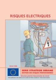 RISQUES ELECTRIQUES - Unité Hygiène et Physiologie du Travail