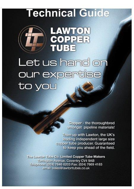 Lawton copper tube technical guide