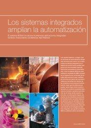 Los sistemas integrados amplían la automatización