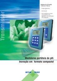 Inovação em formato compacto! - METTLER TOLEDO