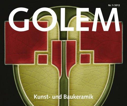 Einfarbige Bodenfliesen - GOLEM Kunst und Baukeramik GmbH