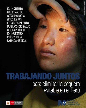 para eliminar la ceguera evitable en el Perú - Instituto Nacional de ...