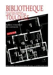 N°6, juin 2010 - Ecole nationale supérieure d'architecture de Toulouse