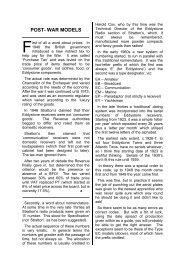 Eddystone Radio Post-War Models - The Listeners Guide
