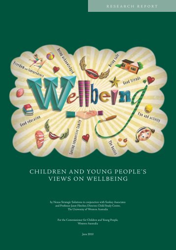 children and young people's views on wellbeing - Commissioner for ...