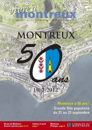 Montreux a 50 ans - Commune de Montreux