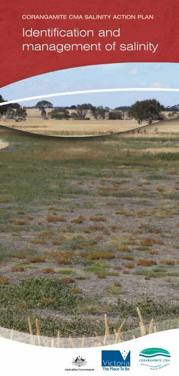 Identification and management of salinity - Corangamite Catchment ...