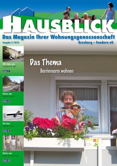Unter uns - Arnsberger Wohnungsbaugenossenschaft eG
