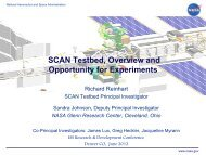 SCAN Testbed - Space Flight Systems - NASA