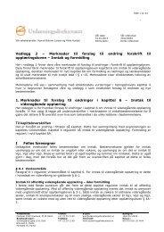 Vedlegg 2 – Merknader til forslag til endring forskrift ... - Politiske saker