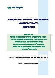 BRASITALIA MINERADORA ESPIRITO SANTO LTDA - Instituto ...