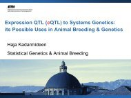 Expression QTL (eQTL) to Systems Genetics: its Possible Uses in ...