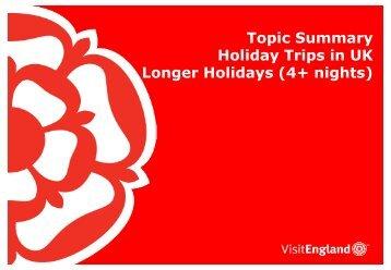 UK Holiday 4+ Nights - VisitEngland
