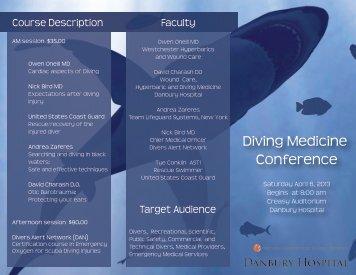 Full conference details. - Divers Alert Network