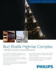 Burj Khalifa Highrise Complex - Philips Lighting Controls