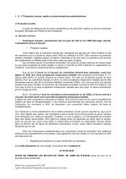 Manuel des organisations SVE 2007 Agence française du ... - Injep