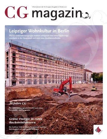 Leipziger Wohnkultur in Berlin - CG-Gruppe