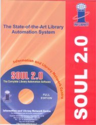 The State-of-the-Art Library Automation System - INFLIBNET Centre