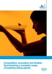 Competitive, innovative and flexible sizing products (PDF - AkzoNobel
