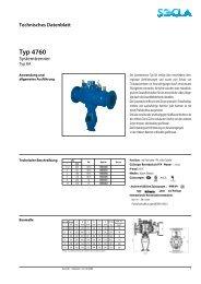 Technisches Datenblatt Typ 4760 - SOCLA