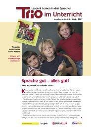 Trio im Unterricht 3.indd - Schule mehrsprachig