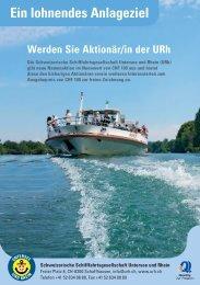 Ein lohnendes Anlageziel - Schweizerische Schiffahrtsgesellschaft ...