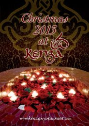 Christmas Brochure 2013 (PDF) - Kenza