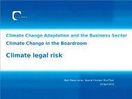 climate legal risk