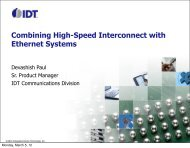 Combining High-Speed Interconnect with Ethernet Systems
